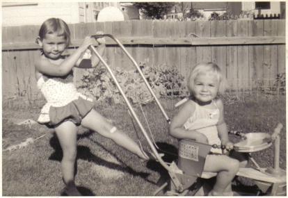 1958 Margaret Sandi stroller