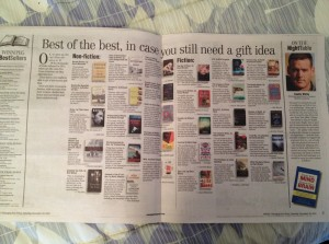 Winnipeg Free Press Best of the Best Book List, 2012