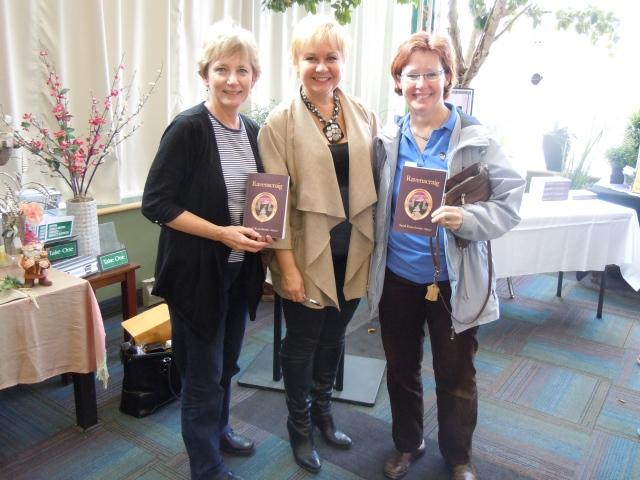 with Kathy Darvill and Linda Hamilton