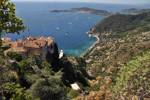 The Mediterranean view from Eze